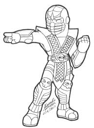 Small Picture Mortal Kombat Cartoon Coloring Pages 09 Cartoon Print Mortal