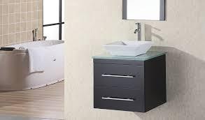 modern bathroom furniture sets. Bathroom Design Ideas Using Mounted Wall Narrow Dark Grey Vanity Including Square Ceramic Modern Furniture Sets