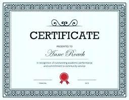 Award Certificate Templates Free Printable Award Certificates Achievement Merit Honor