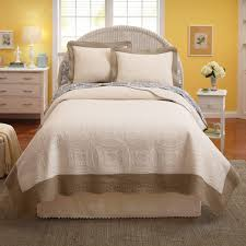 twin solid quilt