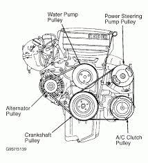 97 ford escort engine diagram 1997 ford escort serpentine belt