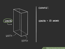 How To Calculate Cubic Inches With Calculator Wikihow