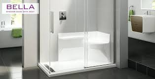 shower bases with seats acrylic bathtubs kohler 60 shower base with seat