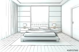 interior design bedroom drawings. Architectural Interior Drawing, Bedroom Sketch Design Drawings W