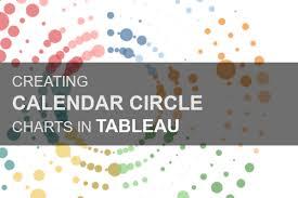 Creating Calendar Circle Charts In Tableau Tableau Magic