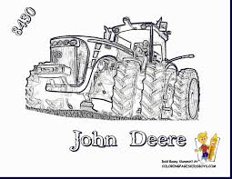 Small Picture Magnificent new holland combine tractor coloring pages with