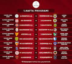 2020-2021 Sezonu Süper Lig 1-4. hafta programları açıklandı - Süper Lig  Haberleri TFF