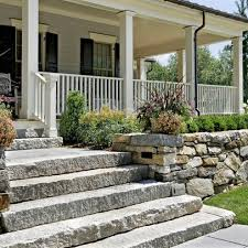 Porch Stone Slab Steps Design Ideas, Pictures, Remodel And Decor Patio  Steps, Front