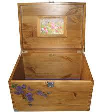 decorative xl wooden keepsake storage box