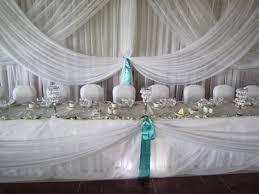 Turquoise And White Wedding Decorations Turquoise Wedding Set The Mood Decor