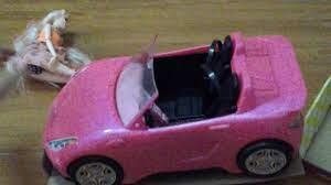 Mở hộp đồ chơi xe hơi cho búp bê barbie - YouTube