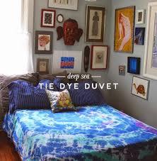 Tie Dye Teen Rooms - Design Dazzle & DIY tie dye duvet cover Adamdwight.com