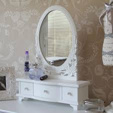 blanche range dressing table mirror with drawers