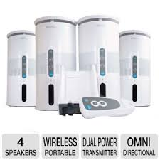 wireless office speakers. Audio Unlimited Premium Wireless Speaker System Office Speakers TigerDirect.com