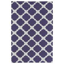 kaleen lily and liam purple indoor handcrafted kids throw rug common 2 x 3