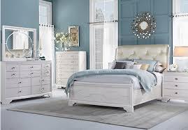 Pc Queen Bedroom With Sand Upholstered Bed Queen Bedroom Sets Dark ...