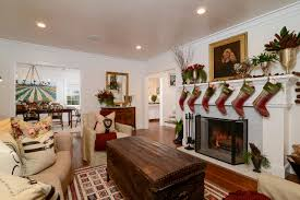 Xmas Living Room Decor Tour This Equestrian Themed Farmhouse Decked Out With Christmas