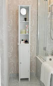Decorative White Corner Bathroom Cabinet Tall Awesome Tallboy Www