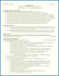 Technical Skills Examples Resume Best of Summary Of Skills Resume Examples Resume Skills Summary 24 Resume