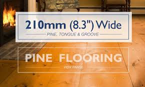 ultra wide plankpine flooring 210mm 8 3 21mm thick tongue and groove