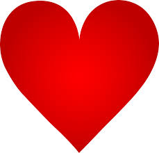 Image result for image of a big red heart
