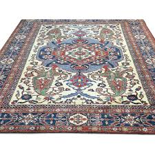 x unique tribal designed blue red cream oriental rug intended for and plans