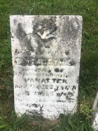 Elizabeth Vannatter (Unknown-1863) - Find A Grave Memorial