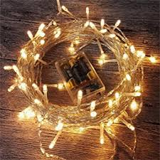 battery operated home lighting. amars led string lights battery operated 33 feet for outdoor indoor home lighting