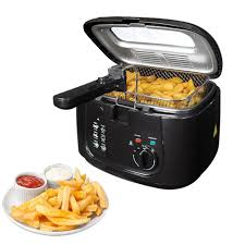 Non Stick Kitchen Appliances 25l Electric Deep Fat Chip Fryer Non Stick Pan Amp Safe Basket