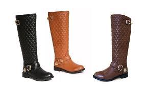Bucco Marena Ladies' Quilted Boots: Brown (Size 9), - Check Back ... & ... Bucco Marena Ladies' Quilted Boots: Brown (Size ... Adamdwight.com