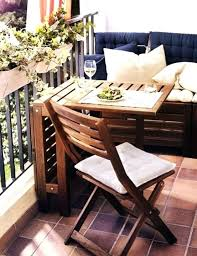 outdoor furniture small balcony. Small Terrace Furniture Patio Chairs Outdoor For Balcony Wooden Table And Chair I