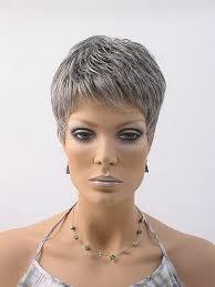Coiffure Courte Femme Cheveux Gris