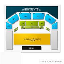 Cosmopolitan Las Vegas Seating Chart Cosmopolitan Of Las Vegas Tickets