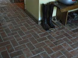 Brick Flooring For Kitchen Entryways And Hallways Inglenook Brick Tiles Thin Brick
