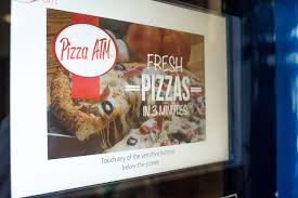Pizza Vending Machine Xavier Adorable Get Ready America The Pizza ATM Is Here Courtesy Of Xavier