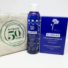 reduce signs of aging around eyes with klorane