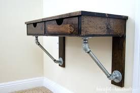 rustic desks rustic wall mounted desk rustic desk diy