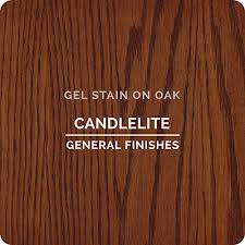 General Finishes Cg Oil Base Gel Stain 1 Gallon Candlelite