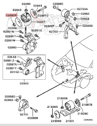 evo 8 engine diagram how to egr removal viii ix and charcoal evap extreme psi your source for in stock performance parts oem engine side motor mount nut 12mm