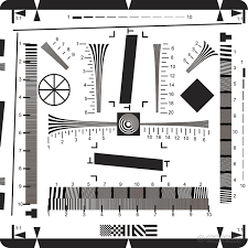 Iso Chart 12233 Mennon Iso12233 Resolution Test Chart In Lgp Light Box