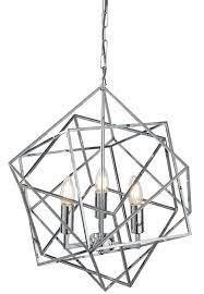 cube 3 light geometric pendant ceiling