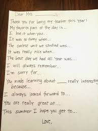 Thank You Not Teacher Thank You Note Prompts Brooke Romney Writes