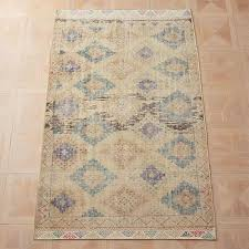 foothills diamond pattern hand knotted kilim rug
