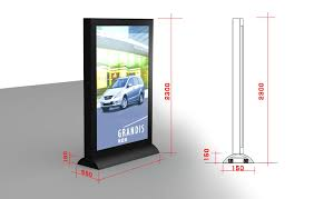 Led Light Box Display Stand Led Light Box Display And Modern Outdoor Scrolling With Stand Buy 3