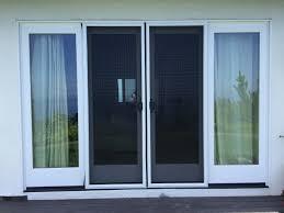 double sliding screen door rescreening in malibu with pet screen