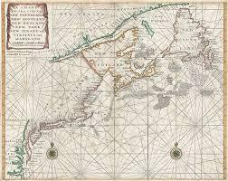 A Chart Of The Sea Coast Of New Foundland New Scotland New