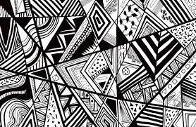 Abstract Art Black And White Patterns Abstract Art Patterns Black White Abstract Pattern Vector