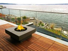 Q Square Fire Table Our Quadra Square Fire table is a beautiful and compact  addition to an outdoor living area. Providing lots of table space for both  ...