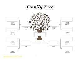 Family Tree Layout For Word Diagram In Immediate Template – Home Of ...