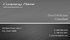 Professional Business Card Template Postermywall